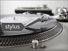 Stylus on a record
