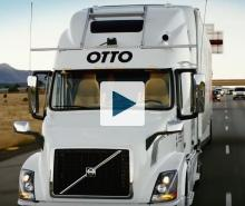 Front view of the Otto truck
