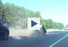 Car rolling over