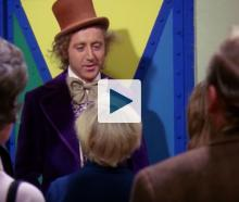 Scene from Willy Wonka & The Chocolate Factory